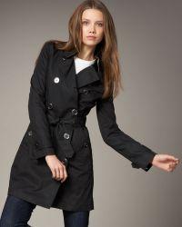 Burberry Brit - Balmoral Coat - Lyst