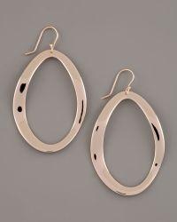 Ippolita Rose Oval Earrings, Large - Lyst