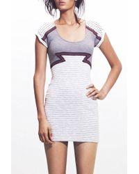 Jen Kao | Heavy Jersey Aztec Mini Dress | Lyst