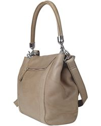 La Bagagerie - Jockey - Leather Shoulder Bag - Lyst