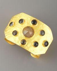 Stephanie Anne Rejoice Multi Stone Cuff - Lyst