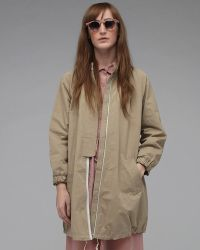 Girl by Band of Outsiders - Waxed Gabardine Bubble Coat - Lyst
