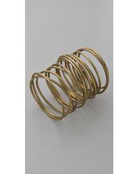 Kelly Wearstler - Twisted Brass Bracelet - Lyst