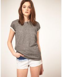 ASOS Collection T-Shirt In Double Layer - Lyst