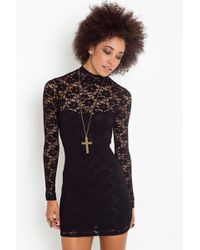 Nasty Gal Sweetheart Lace Dress - Lyst