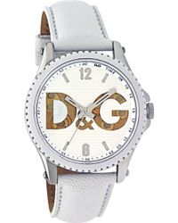 Dolce & Gabbana | Sestriere Ladies Leather Strap Watch | Lyst