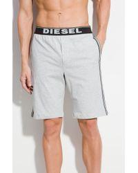 Diesel Gray Hans Shorts - Lyst