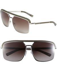 Dior Havane Metal Aviator Sunglasses - Lyst