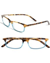 Kate Spade 'Jodie' 48Mm Reading Glasses - Havana Teal - Lyst