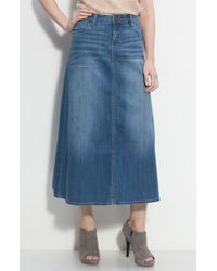 Kut From The Kloth | 4-pocket Denim Maxi Skirt | Lyst