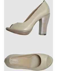 Rocco P  Pumps with Open Toe - Lyst