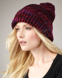 Marc By Marc Jacobs - Tito Hand-knit Wool Hat - Lyst