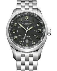 Victorinox Airboss Automatic Bracelet Watch - Lyst