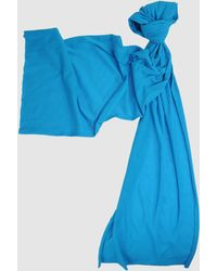 American Apparel Blue Oblong Scarves - Lyst