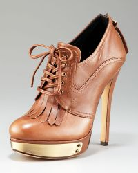 House of Harlow 1960 - Lace-up Metal-detail Bootie - Lyst