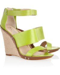 Kors by Michael Kors - Eliza Leather Wedges - Lyst