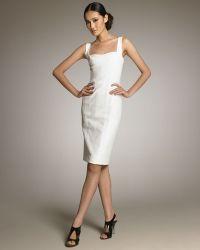 Narciso Rodriguez Sleeveless Sheath Dress - Lyst