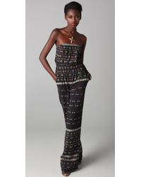 Twelfth Street Cynthia Vincent - Strapless Resort Jumpsuit - Lyst