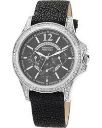 Badgley Mischka   Stingray Leather Strap Watch   Lyst