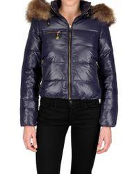 Beayukmui Racoon Fur Trim Down Jacket - Lyst