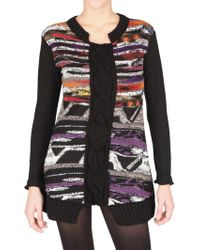 Didier Parakian - Wooven Knit Multi Color Sweater - Lyst