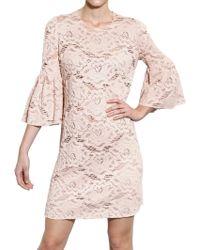 Dolce & Gabbana Cotton Lace Dress - Lyst