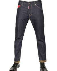 DSquared² 16,5cm Cool Guy Denim Check Jeans - Lyst