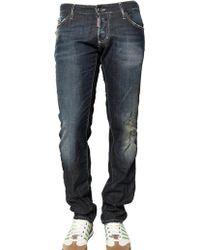 DSquared² 19cm Slim Fit Lightweight Denim Jeans - Lyst