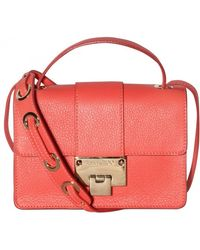 Jimmy Choo Rebel Grainy Leather Shoulder Bag - Lyst