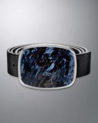 David Yurman - Exotic Belt Buckle, Pietersite - Lyst