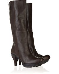 Marni Mid-Calf Leather Boots - Lyst