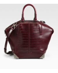 Alexander Wang Emile Small Frenchbull Leather Tote - Lyst