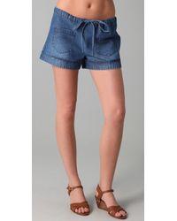 Dallin Chase Fieldston Denim Shorts