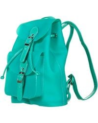 Topshop Frost Plastic Backpack - Lyst