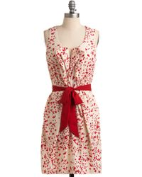 ModCloth The Flight Stuff Dress - Lyst