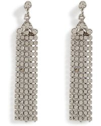 R.j. Graziano | Crystal Fringe Earrings | Lyst
