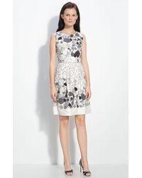 Lela Rose Embellished Dress - Lyst