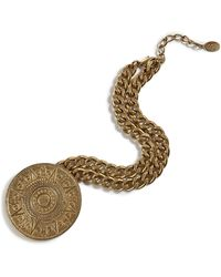 Theodora & Callum - Brass Capri Coin Necklace - Lyst