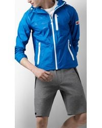 Burberry Sport Lightweight Showerproof Jacket - Blue