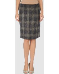 Max Mara Studio Knee Length Skirts - Lyst