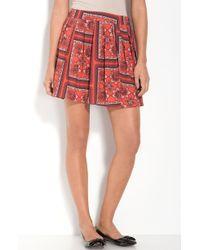 Frenchi® Flowy Pleated Skirt - Lyst