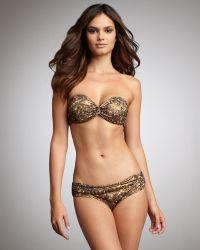 Lanvin - Rhinestone-print Two-piece Bikini - Lyst