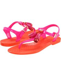Juicy Couture - Wisp Jelly Sandals  - Lyst