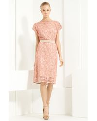 Lida Baday Belted Lace Dress - Lyst