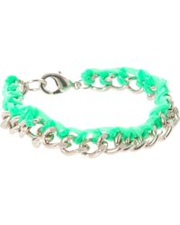 ASOS Collection Asos Chain and Gummy Bracelet - Lyst
