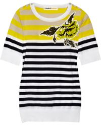 Clements Ribeiro - Striped Cotton Jumper - Lyst
