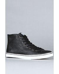 Vans The Sk8-hi D-lo Sneaker in Black - Lyst