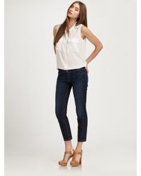 7 For All Mankind Slim Straightleg Jeans - Lyst
