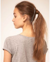 ASOS - Asos Spike Ear Cuff and Comb - Lyst