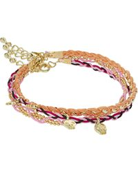 ASOS - Asos Pack Of Three Skull Friendship Bracelets - Lyst